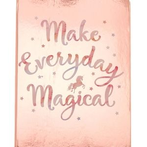 Make everyday magical rose gold daily planner cale